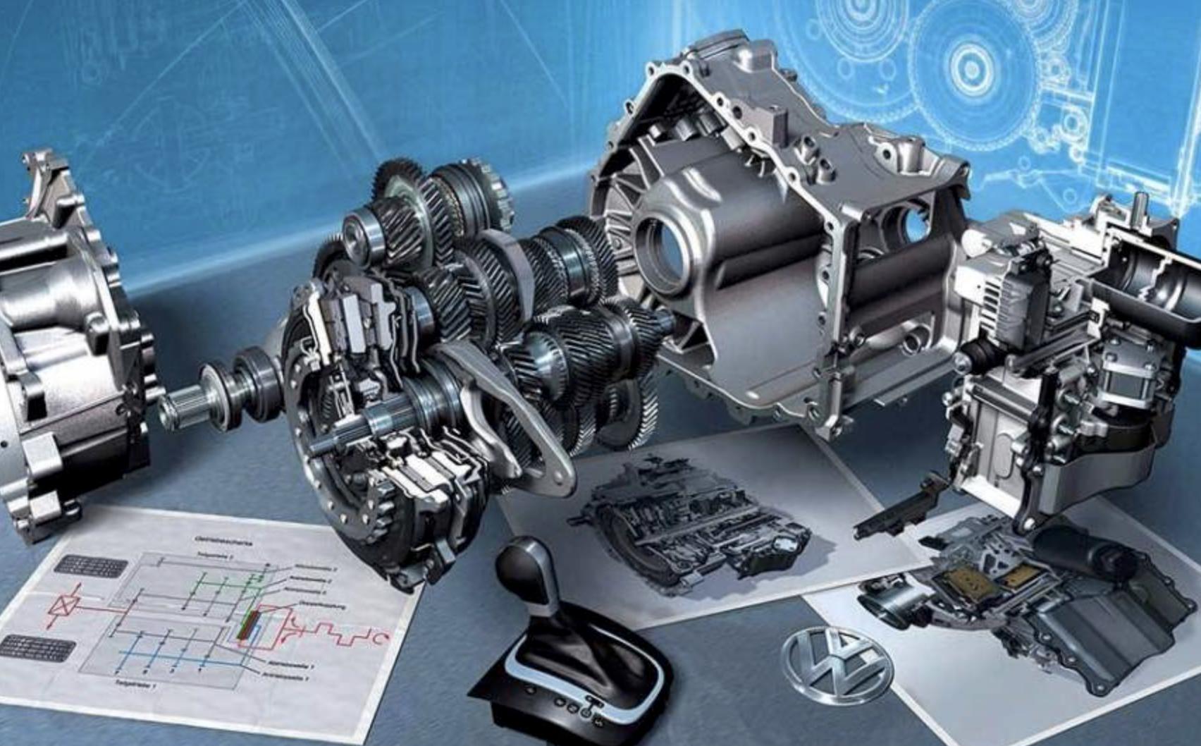 VW transmission DSG Fault