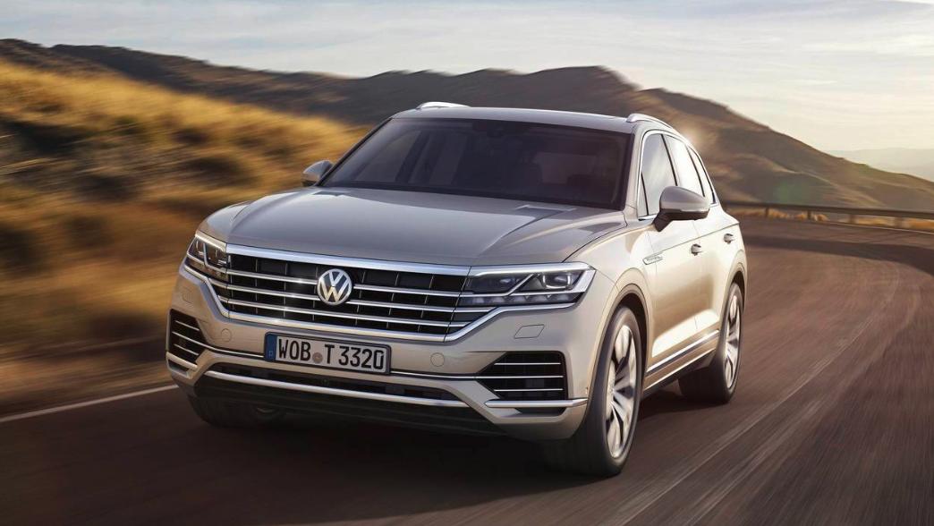VW Touareg Review