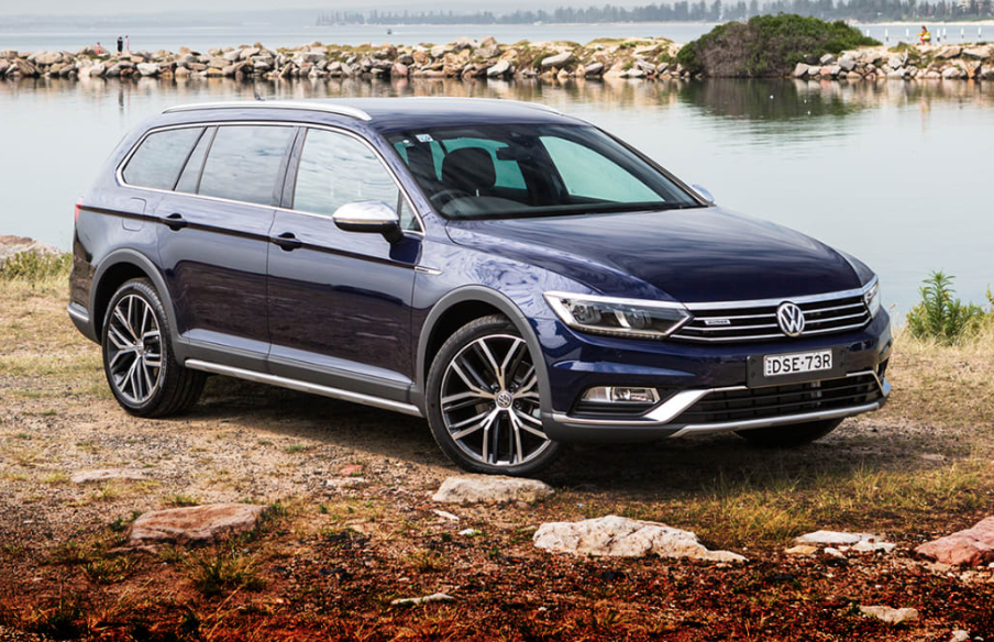 VW Passat all track review
