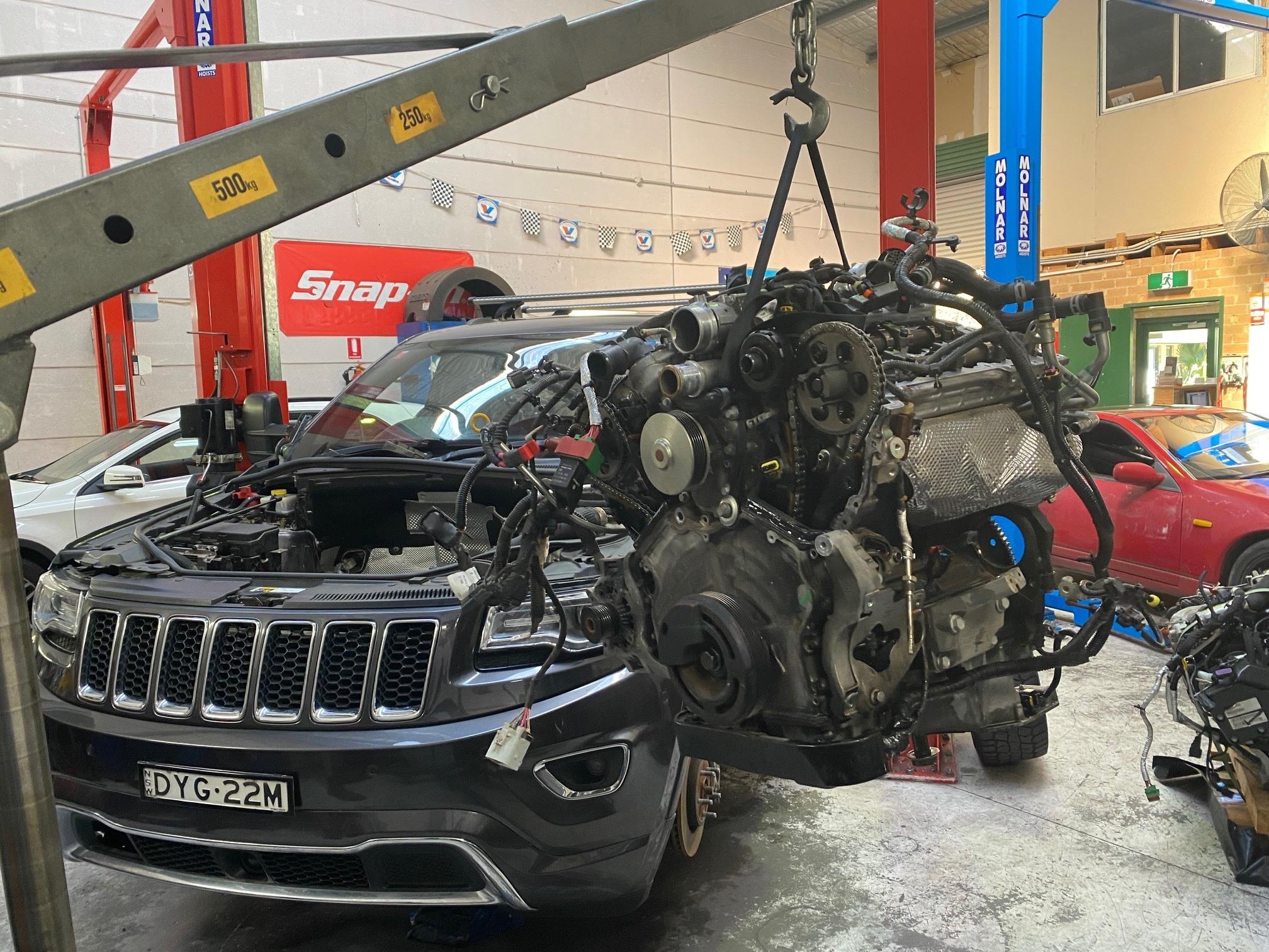 Jeep Diesel Engine Fault