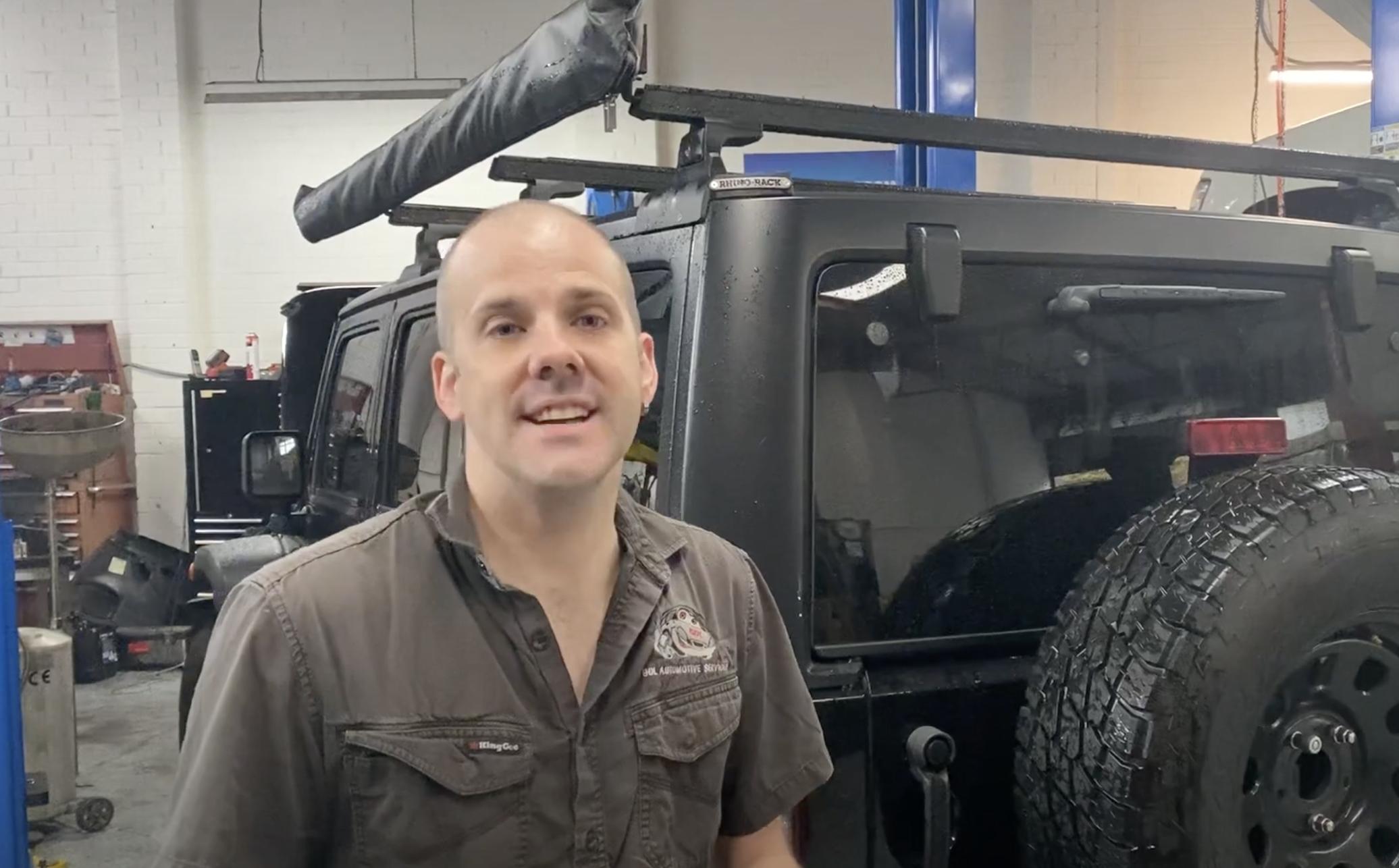 Jeep Wrangler Mechanic
